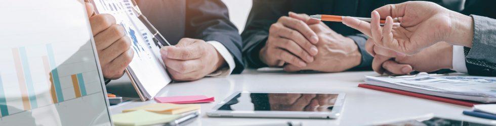 riunione specialistica interna all'azienda Seriana Edilizia dedicata alle agevolazioni fiscali legate ai contributi statali