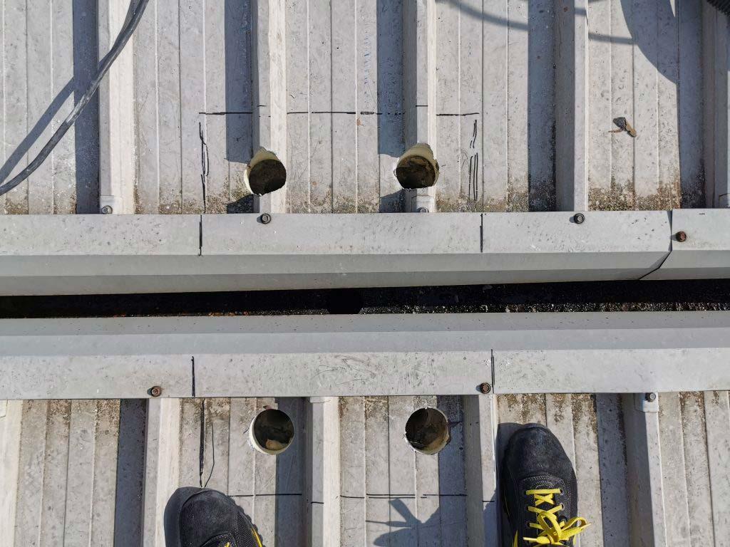 copertura di capannone industriale