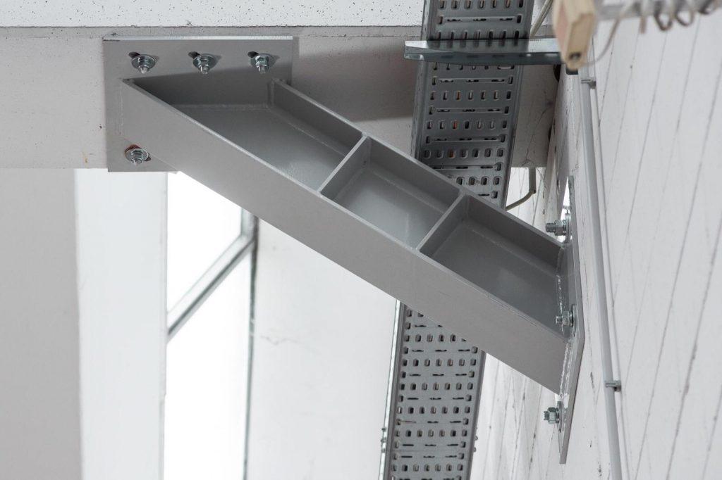 vincolo messo in opera in struttura in calcestruzzo