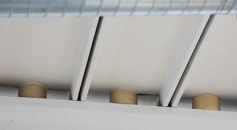 Fissaggio tegolo – trave tramite realizzazione di pilastrini