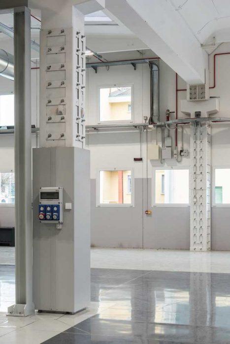 Intervento di incamiciatura in acciaio permette di incrementare la resistenza del manufatto senza aumentarne significativamente le dimensioni