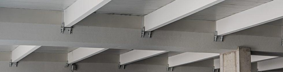 dettaglio piastre installate da seriana edilizia per adeguamento sismico