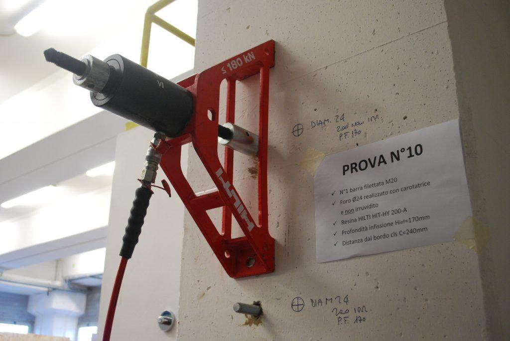 test su cemento armato